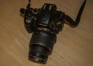 Nikon D5100 DSLR and 18-55mm lens