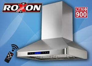 900CFM STRONG  SUCTION WALL MOUNT RANGE HOOD FROM $399