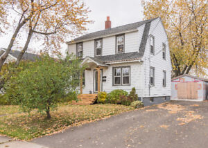 184 WAVERLEY AVE. MONCTON! CENTRALLY LOCATED CHARACTER HOME!