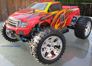 New RC Brushless Electric Truck TOP2 Version LIPO, 4WD 2.4G London Ontario image 3