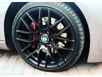 "BMW m359 avante garde csl concave 19inch 19"" alloys swaps for 20"" 20inch e90 e91 e92 e93"