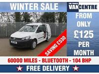 VW CADDY C20 TECH 1.6 TDI BLUE TOOTH SIDE LOADING DOOR WAS £7000 SAVE £530