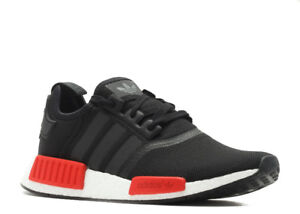 Adidas NMD R1 Black/Red Size 9
