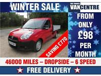 FIAT DOBLO 1.6 MULTIJET 105 BHP WORK UP DROPSIDE 6 SPEED WAS £5770 SAVE £770