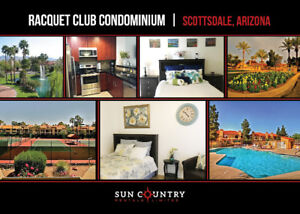 Beautiful Furnished 2 Bed 2 Bath Condo - Scottsdale, AZ