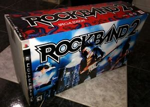 Sealed, Brand New - RockBand 2 Special Edition - PS3