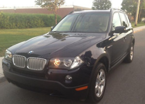 2007 BMW X3 3.0si FULLY LOADER! VERY LOW MILEAGE!WOW !!!!!!!!!!!