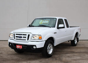 2011 Ford Ranger Sport **LOW KM**