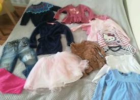 Girls clothing bundle size 4-5 years