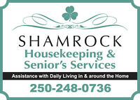 Shamrock Home & Office Cleaning - Nanoose to Parksville