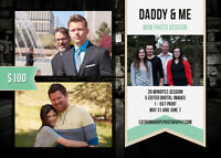 Lifestyle Photography - Father's Day Promotion - Two Day Event