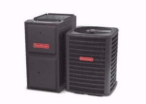 HIGH EFFICIENCY FURNACE AND AIR CONDITIONERS - FREE INSTALLATION