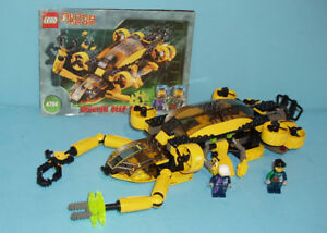 LEGO ALPHA TEAM no 4794, la MISSION DEEP SEA