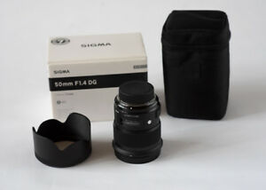 Sigma Art 50mm F1.4 lens for Nikon