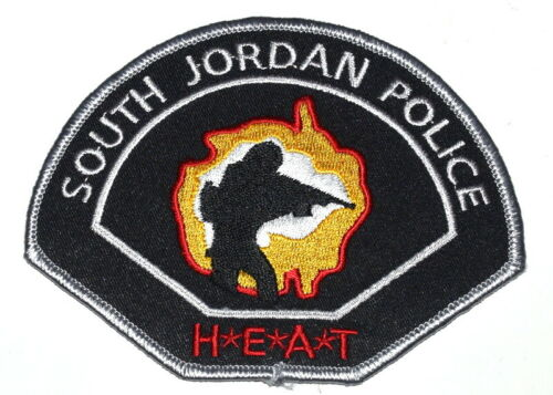 SOUTH JORDAN – HEAT – UTAH Sheriff Police Patch RIFLE GUN SWAT