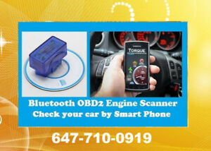 Bluetooth ELM327 Android OBD2 Code Reader $35 **