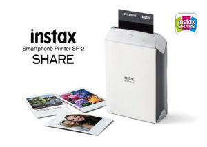 Fujifilm Instax Mini Share Printer SP2 SILVER - NEW IN BOX