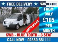 FORD TRANSIT 280 SWB BLUE TOOTH 3 SEATS