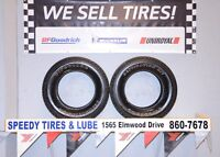2 Good used 255/70/17 Firestone Destination A/T for sale.