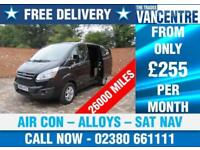 FORD TRANSIT CUSTOM 270 L1 H1 LIMITED SWB 125 BHP AIR CON ALLOYS 3 SEATS