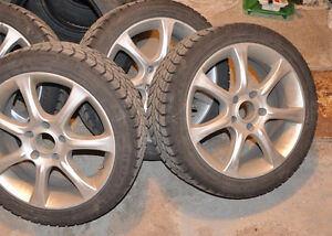 Winter Tires with mags -Winterclaw- 225/45 R17