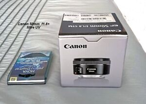 Objectif Canon 50mm F1.8