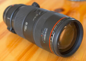 Canon 80-200 L Series EF Lens F/2.8
