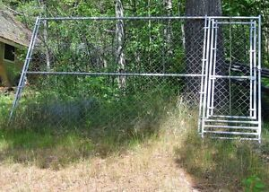 Dog fences Made by M&G Fencing