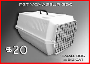 PET TRAVEL-CAGE SMALL DOG / LARGE CAT GOOD COND.