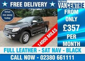 FORD RANGER 2.2 TDI LIMITED DOUBLE CAB 4 X 4 150 BHP FULL LEATHER SAT NAV