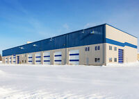 GET YOUR STEEL BUILDING IN SUDBURY BEFORE THE SNOW!!