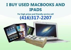 Macbooks or Ipads No Longer Being Used - Sell It To Me For CASH!