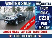 NISSAN NAVAR DCI TEKNA 4X4 110 BHP AIR CON BLUE TOOTH WAS £12870 SAVE £400