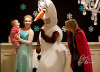 Elsa Anna Olaf Birthday Parties, Mascots, Reptile Shows & MORE