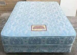 Excellent double bed set for sale (firm mattress). Delivery avail Kingsbury Darebin Area Preview