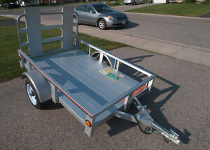 Stirling  4 x 6 utility trailer with ramp