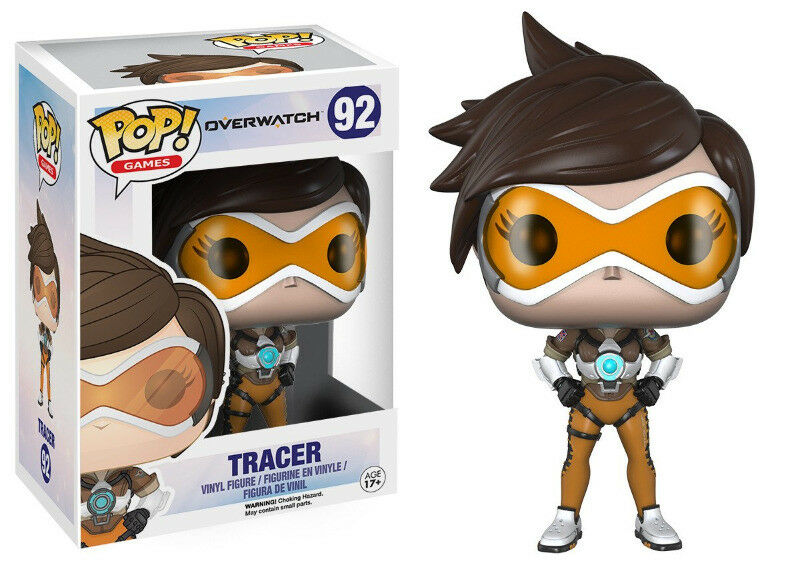 Funko Pop! Games: Overwatch - Tracer Vinyl Figure (New)