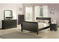 Queen Or Double Size Sleigh Bedroom set