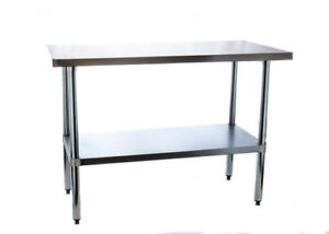 Commercial Kitchen Work Table (Stainless Steel)