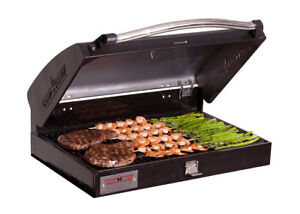 BBQ grill box camp chef deluxe