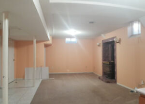 2 Bedroom basement apartment (Brampton) from May 1st