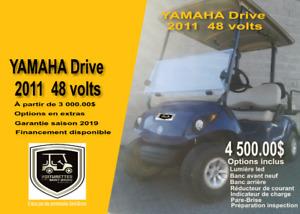 Voiturettes de golf ( Yamaha 2011 à partir de 3000 )