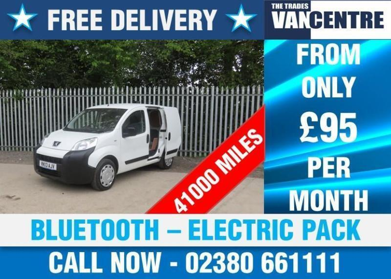 PEUGEOT BIPPER 1.3 HDI SE SWB BLUETOOTH ELECTRIC PACK SIDE DOOR