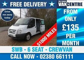 FORD TRANSIT 260 CREWVAN DOUBLE CAB SWB 6 SEAT