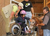 Do you like horses, children, animals and making a differnce?