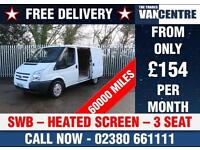 FORD TRANSIT 280 SWB HEATED SCREEN 3 SEATS