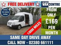 FORD TRANSIT 280 MWB HIGH ROOF 100 BHP 6 SPEED