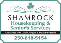 Providing help around the home to young and old seniors