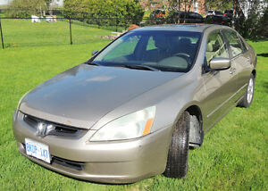2003 Honda Accord EX V6 Sedan - Reduced $2,000.00