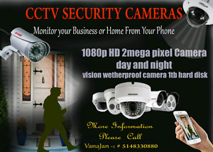 home security camera sale and installation